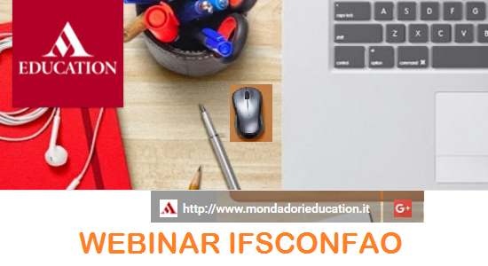 WEBINAR CONFAO per Mondadori Education